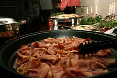 Party o alimento Imagem de Stock