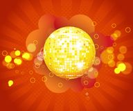 Party/o fundo do disco da música para o DES do evento da música Fotografia de Stock