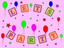 Party o tempo Imagens de Stock