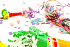 Party objects  Stock Photography