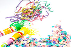 Party objects isolated Stock Images