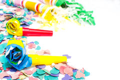 Party objects isolated Stock Photo