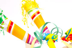 Party objects isolated Royalty Free Stock Photography