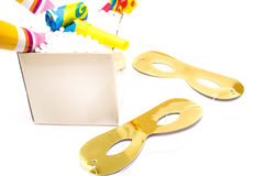 Party objects Royalty Free Stock Photo