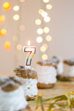 Party on the occasion of 7th birthday Royalty Free Stock Photos