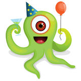 Party octopus monster Stock Images
