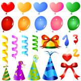 Party ornaments vector Stock Image
