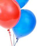 Party os balões dois Imagem de Stock