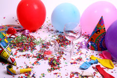 Party is over Royalty Free Stock Photography