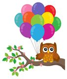 Party owl topic image 4 Stock Photography