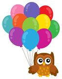 Party owl topic image 3 Stock Photo