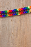 Party with paper chain Royalty Free Stock Image