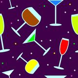 Party pattern Stock Images