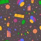 Party pattern Royalty Free Stock Photography