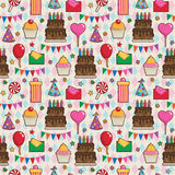 Party pattern Royalty Free Stock Photos