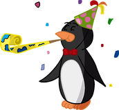 Party Penguin Stock Photo