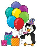 Party penguin topic image 1 Stock Photos