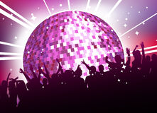 Party people. Abstract style party illustration vector Royalty Free Stock Photo