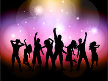 Party people background Stock Image