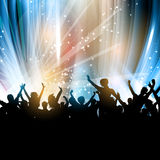 Party people background Stock Photography