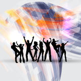 Party people background Stock Photos