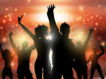 Party people background Stock Images