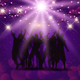 Party people background Royalty Free Stock Photography