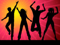 Party people dancing Stock Photos