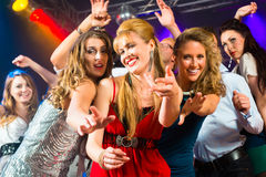 Free Party People Dancing In Disco Club Royalty Free Stock Photo - 26869015