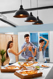 Party People. Friends Having Dinner. Holiday Celebration. Friend Stock Images