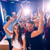 Party people Royalty Free Stock Photo