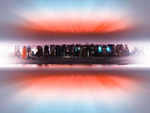 Party people at Indian beach dramatic background. Hd horizontal orientation nobody blank empty space sparse vivid vibrant bright color rich composition design royalty free stock image