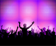 Party people silhouette Stock Photography