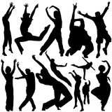 Party people vector Royalty Free Stock Images