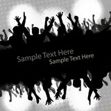 Party People Vector Background Stock Image