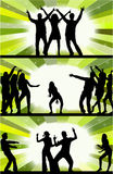 Party peoples.  Stock Photos