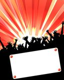 Party Placard Royalty Free Stock Images