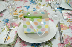 Party Place Setting Royalty Free Stock Images