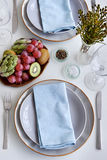Party place setting Stock Photography