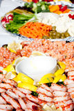 Party Platters Royalty Free Stock Images