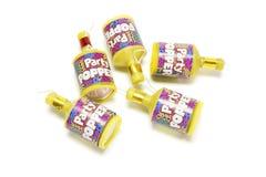 Party Poppers stockbild
