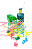 Party Poppers Stockbild