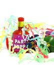 Party poppers B Stock Image