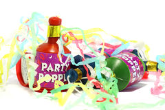 Party poppers A Royalty Free Stock Photography