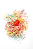 Party Poppers. A studio photo of party poppers stock photography