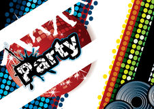 Party poster Stock Images