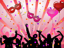 Party poster Royalty Free Stock Photography
