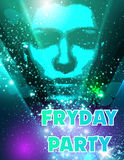 Party poster Royalty Free Stock Photos