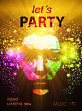 Party poster Royalty Free Stock Photo