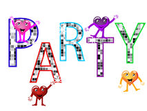 Party poster Royalty Free Stock Image